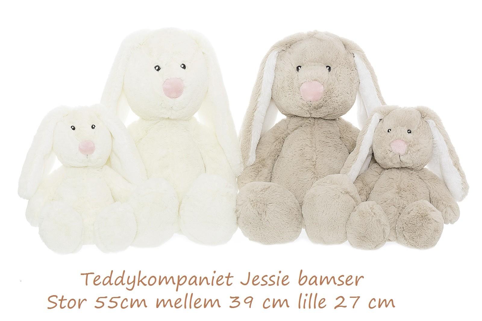 Jessie bamse fra teddykompaniet med navn på