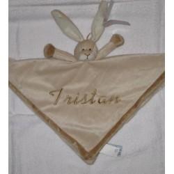 Teddykompaniet Kanin nusseklud med navn på