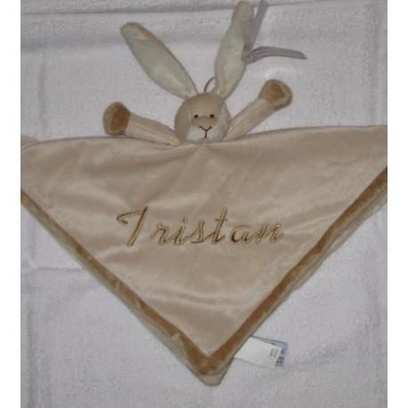 Teddykompaniet Kanin sutteklud med navn på