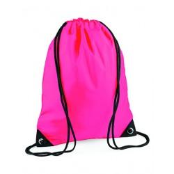 Neonpink Gymnastikpose med navn på