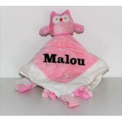 Kids Concept rosa nusseklud med navn på