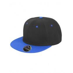 Sort og blå SnapBack cap med navn på