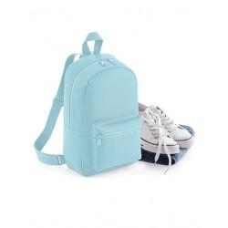 Lyseblå Mini taske med navn på