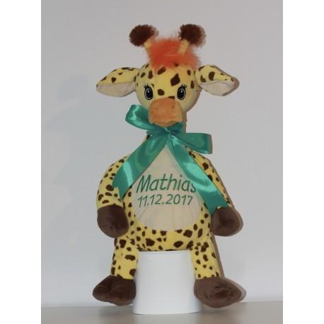 Cubbies Giraf bamse med navn på