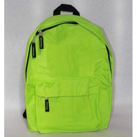 Limegrøn rygsæk