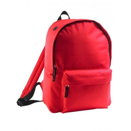 Rød rygsæk