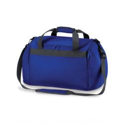 Blå sportstaske med navn på