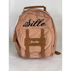 Elodie Details faded rose børnetaske med navn på