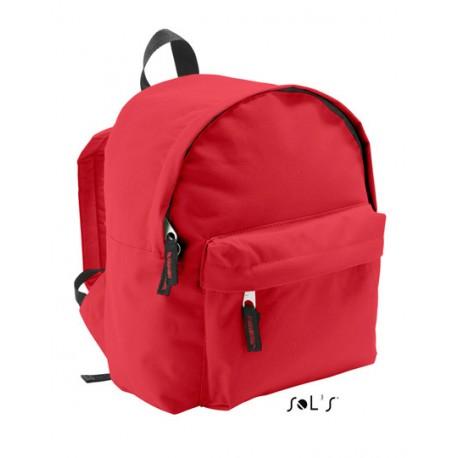 Rød børnerygsæk