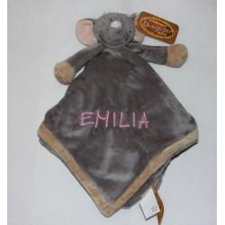 Teddykompaniet Elefant sutteklud med navn
